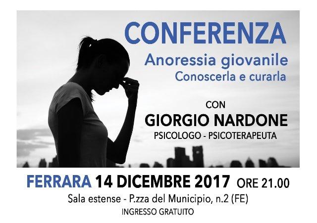 Conferenza Anoressia